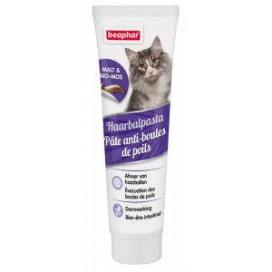 Beaphar Pate Boule de poils (contient malt) pour chat 2 x 100 g