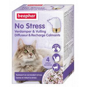 Beaphar No Stress diffuseur pour chat & recharge calmant Par 2 unités