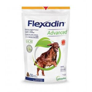 Vetoquinol Flexadin Advanced - Complément alimentaire pour chien 30 comprimés (avec Serrata)