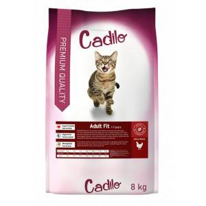 Cadilo Adult Fit pour chat 2 x 8 kg