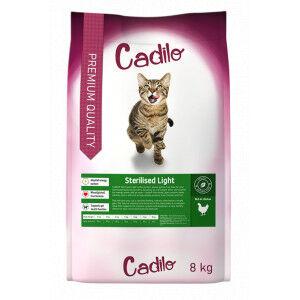 Cadilo Sterilised Light pour chat 8 kg