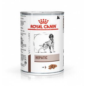 Royal Canin Veterinary Diet Hepatic pour chien Par 4 paquets (48 x 420 g)