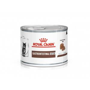 Royal Canin Veterinary Diet Royal Canin Veterinary Gastrointestinal Kitten pâtée pour chat 195g Par 4 paquets (48 x 195 g)