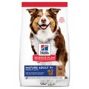 Hill's Mature Adult Medium agneau riz pour chien 2 x 2,5 kg