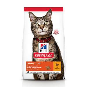 Hill's Optimal Care Adult poulet pour chat 2 x 10 kg