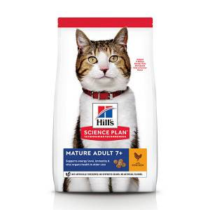 Hill's Science Plan Mature adult 7+ poulet pour chat 10 kg
