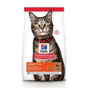 Hill's Optimal Care Adult agneau pour chat 2 x 3 kg