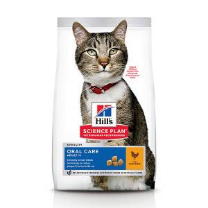 Hill's Oral Care Adult poulet pour chat 2 x 7 kg