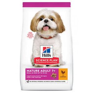 Hill's Mature/Senior 7+ Small & Mini pour chien 3 x 1,5 kg