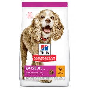 Hill's Prescription Diet Hill's Senior Small & Mini au poulet pour chien 3 x 1,5 kg