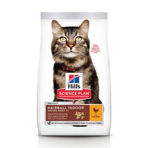 Hill's Hill's Mature Adult Hairball Control pour chat 3 x 1,5 kg