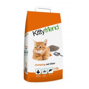 Kitty Friend Clumping Cat Litter 2 x 10 Litres