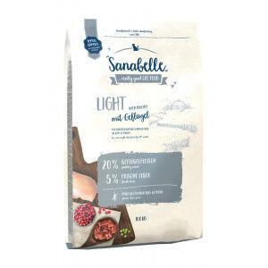 Sanabelle Light avec de la volaille pour chat 2 x 10 kg