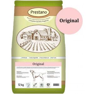 Prestano Original pressées pour chiens 4 x 12 kg
