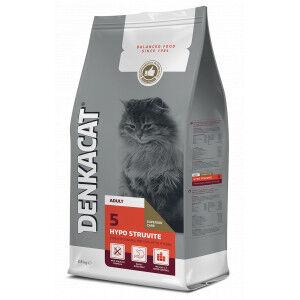 Denkacat Hypo Struvite pour chat 2 x 2,5 kg