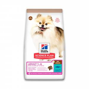 Hill's Adult Small & Mini No Grain au thon pour chien 2 x 6 kg