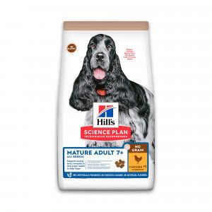 Hill's Mature Adult No Grain au poulet pour chien 14 kg