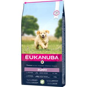 Eukanuba Puppy Large à l'agneau & riz pour chien 2 x 12 kg