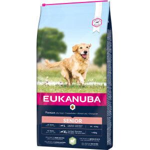 Eukanuba Senior Large à l'agneau & riz pour chien 2 x 2,5 kg