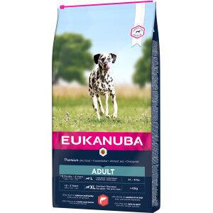 Eukanuba Adult Large Saumon & Orge pour chien 2 x 12 kg