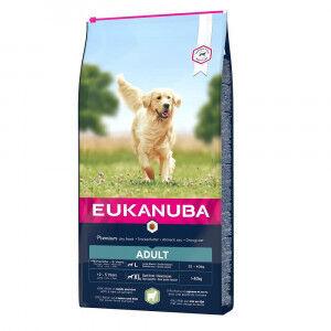 Eukanuba Adult Large Breed agneau riz pour chien 2 x 12 kg