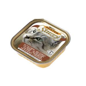 Stuzzzy Mister Stuzzy Cat pâtée à la dinde pour chat 100 gr. 1 tray (32 x 100 gram)