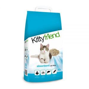 Kitty Friend Absorbent litière pour chat 3 x 10 Litres