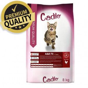 Cadilo Adult Fit pour chat 8 kg + 2 kg gratuits