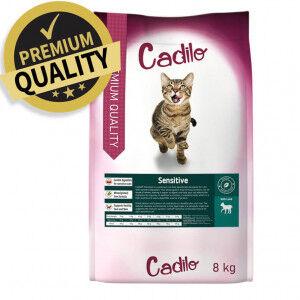Cadilo Sensitive pour chat 2 kg + 400 gram gratuits