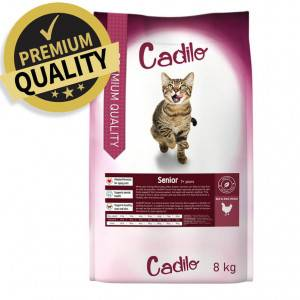 Cadilo Senior pour chat 2 x 400 grammes + 2 x 400 grammes gratuits