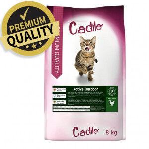 Cadilo Active Outdoor pour chat 400 gram + 400 gram gratuits