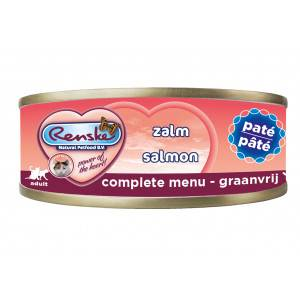 Renske paté au saumon pour chat 70 gr Par paquet  (24 x 70 g)