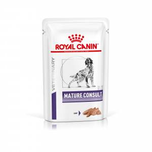 Royal Canin Veterinary Diet Royal Canin Veterinary Mature Consult Loaf pâtée pour chien 2 trays (24x 85 gr)