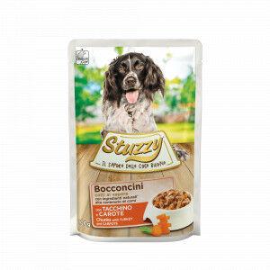 Stuzzy Chunks à la dinde et carotte pâtée pour chien 100 gr. 2 Boîtes ( 48 x 100 gr.)