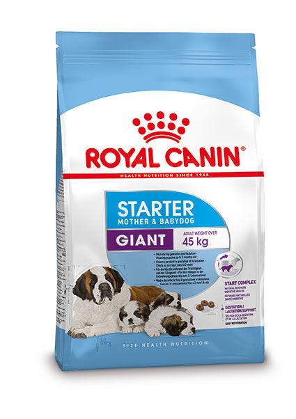 Royal Canin Giant Starter Mother & Babydog pour chiot 15 kg
