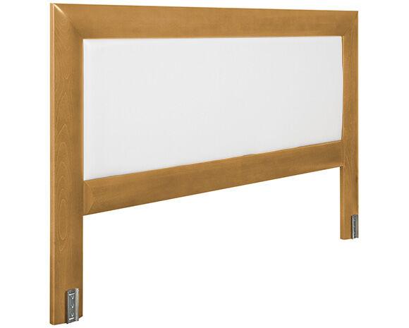 Maliterie.com Tête de lit bois massif tendance, Finitions: Massif miel, Largeurs: 140 cm