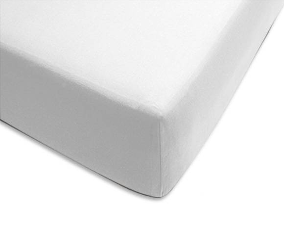 Maliterie.com Drap housse 100% coton, Dimensions: 80x200cm, Coloris: Blanc