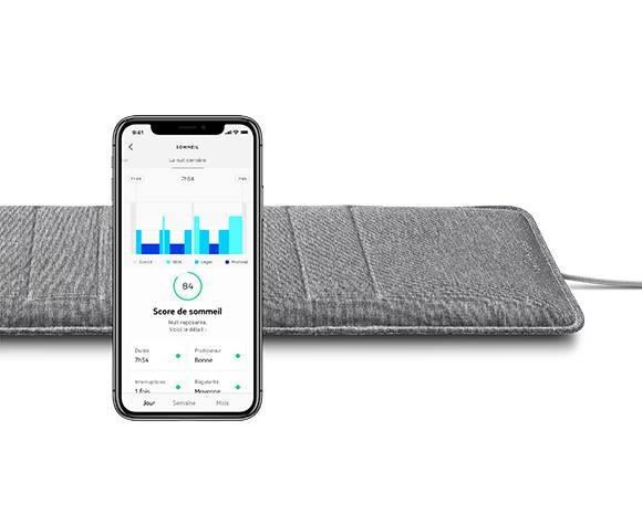 Maliterie.com Capteur Sleep Analyzer Withings, Taille masque: taille unique
