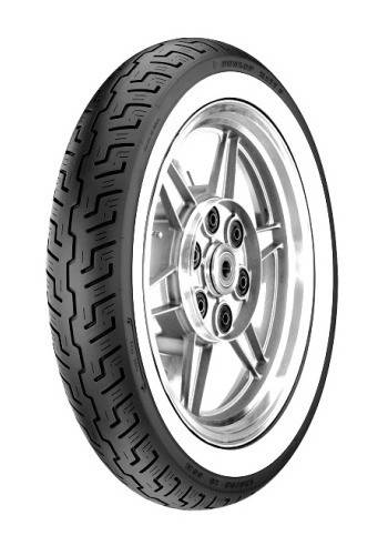 Dunlop PNEU Dunlop K177 FLANC BLANC 120/90R18 65H WWW,Avant,Diagonal,TL-TT