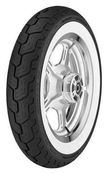Dunlop PNEU Dunlop D402 FLANC BLANC MT90R16 72H TL,WWW,(mt90b16),Avant,Diagonal,HARLEY DAVIDSON