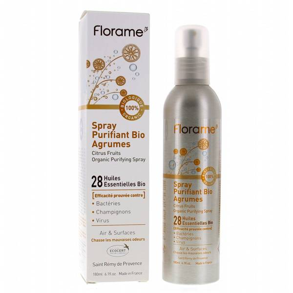 Florame Spray Purifiant Bio Agrumes 180ml
