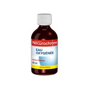 Mercurochrome Eau Oxygénée 200ml - Publicité