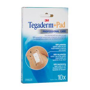 Tegaderm + Pad 10 pansements 5cm x 7cm - Publicité
