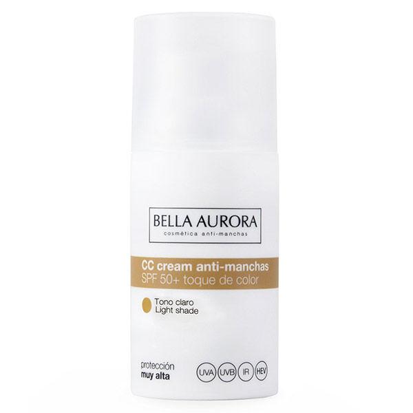 Bella Aurora CC Crème Anti-Tâches Ton Clair SPF50+ 30ml