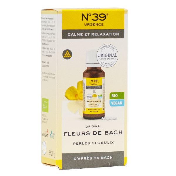 Lemon Pharma Fleurs de Bach Perles Globulix Urgence n°39 Bio 20g