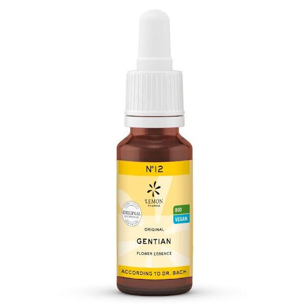Lemon Pharma Fleurs de Bach N°12 Gentian Bio 20ml