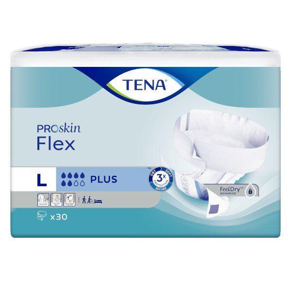 TENA ProSkin Flex Change Avec Ceinture Plus Taille L 30 protections
