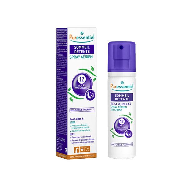 Puressentiel Sommeil et Détente Spray Aérien aux 12 Huiles Essentielles 75ml