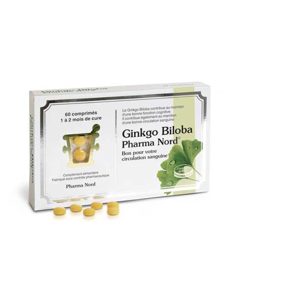 Pharma Nord Ginkgo Biloba 60 comprimés