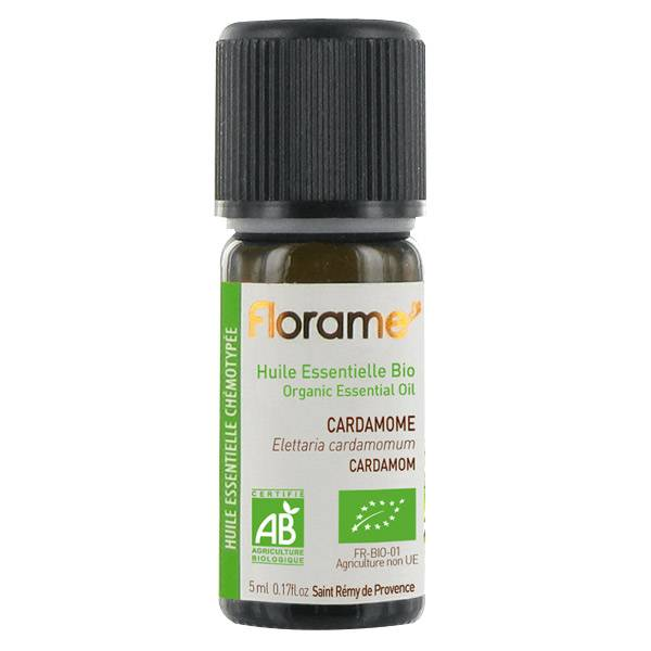 Florame Aromathérapie Huile Essentielle Cardamome Bio 5ml